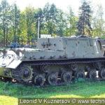 Самоходная артиллерийская установка ИСУ-152 в Ленино-Снегиревском военно-историческом музее