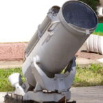 Морской бомбомёт БМБ-2 в Ленино-Снегиревском военно-историческом музее