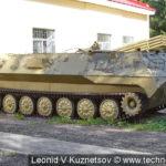 Тягач МТ-ЛБУ в Ленино-Снегиревском военно-историческом музее
