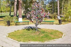 Сиреневый сад у Ленино-Снегиревского военно-исторического музея