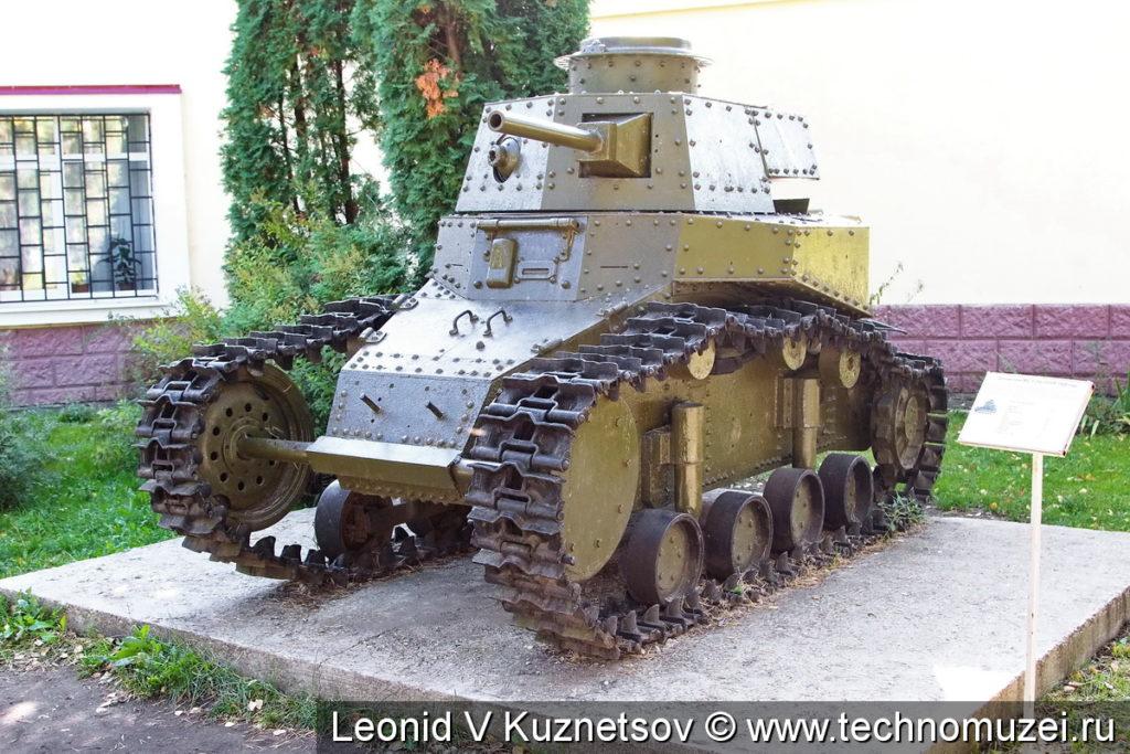 Танк МС-1 (Т-18) в Ленино-Снегиревском военно-историческом музее
