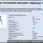 Миномет ПМ-38 в Ленино-Снегиревском военно-историческом музее
