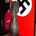 Немецкая фугасная авиабомба в Ленино-Снегиревском военно-историческом музее