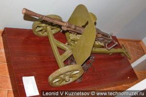 Станковый пулемёт СГ-43 на станке Дегтярёва в Ленино-Снегиревском военно-историческом музее