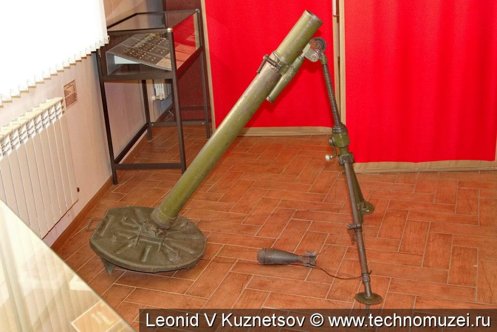 Миномет БМ-37 в Ленино-Снегиревском военно-историческом музее