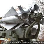 """Пусковая установка 5П72 с ракетой комплекса С-200 """"Ангара"""" в музее войск ПВО в Балашихе"""