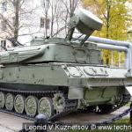 """23-мм зенитная самоходная зенитная установка ЗСУ-23-4 """"Шилка"""" в музее войск ПВО в Балашихе"""