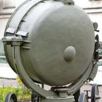 Зенитный прожектор З-15-4Б в музее войск ПВО в Балашихе