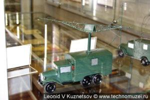 Модель РЛС РУС-2 (Редут-41) в музее войск ПВО в Балашихе