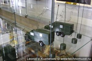Модель РЛС РУС-1 в музее войск ПВО в Балашихе