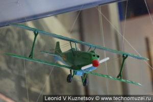 Модель истребителя И-2 в музее войск ПВО в Балашихе