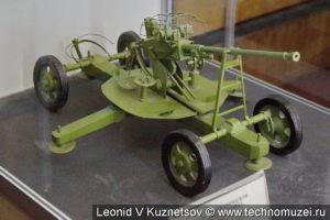 Модель 37-мм зенитной пушки в музее войск ПВО в Балашихе