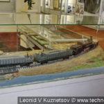 Противосамолетный бронепоезд Путиловского завода в музее войск ПВО в Балашихе
