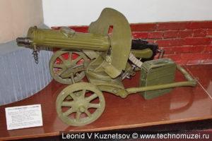 Станковый пулемёт Максим образца 1910 года в музее войск ПВО в Балашихе