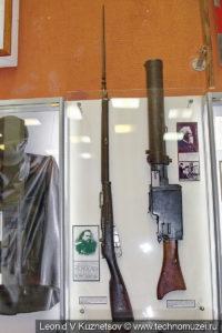 Винтовка Мосина в музее войск ПВО в Балашихе