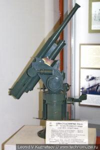 Макет 76-мм зенитной пушки Лендера образца 1915 года в музее войск ПВО в Балашихе