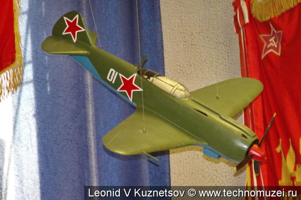 Модель истребителя Ла-5ФП в музее войск ПВО в Балашихе