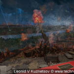 """Диорама """"ПВО Москвы в 1941 году"""" в музее войск ПВО в Балашихе"""