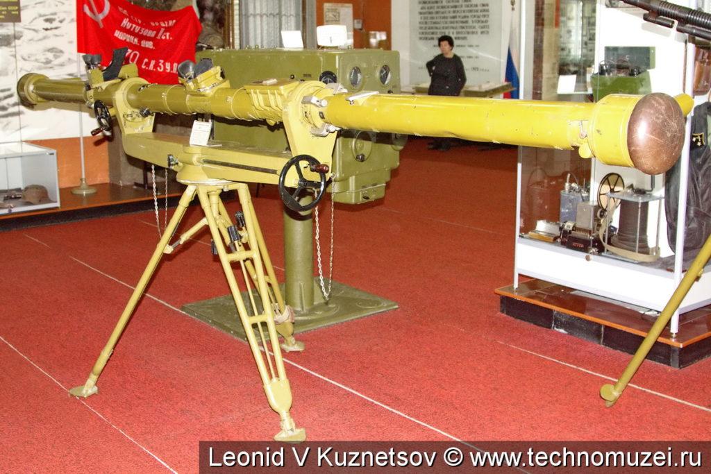 Стереоскопический дальномер ДЯ-1 в музее войск ПВО в Балашихе