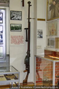 14,5-мм противотанковое ружьё системы Симонова в музее войск ПВО в Балашихе