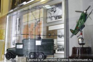 Модель РЛС Редут-43 в музее войск ПВО в Балашихе