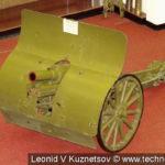 76-мм (трёхдюймовая) горная пушка образца 1909 года в музее войск ПВО в Балашихе