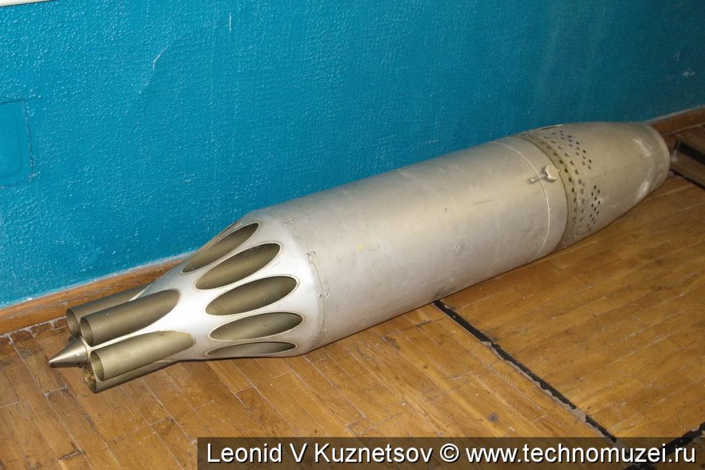 Блок реактивных орудий в музее войск ПВО в Балашихе
