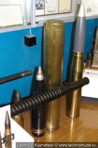 Снаряды зенитных пушек в музее войск ПВО в Балашихе