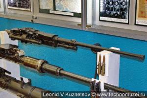Авиационный пулемет А-12,7 в музее войск ПВО в Балашихе
