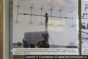 РЛС П-12 в музее войск ПВО в Балашихе