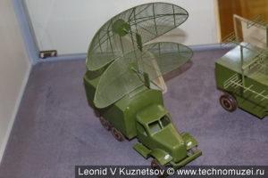 Макет РЛС П-15 в музее войск ПВО в Балашихе