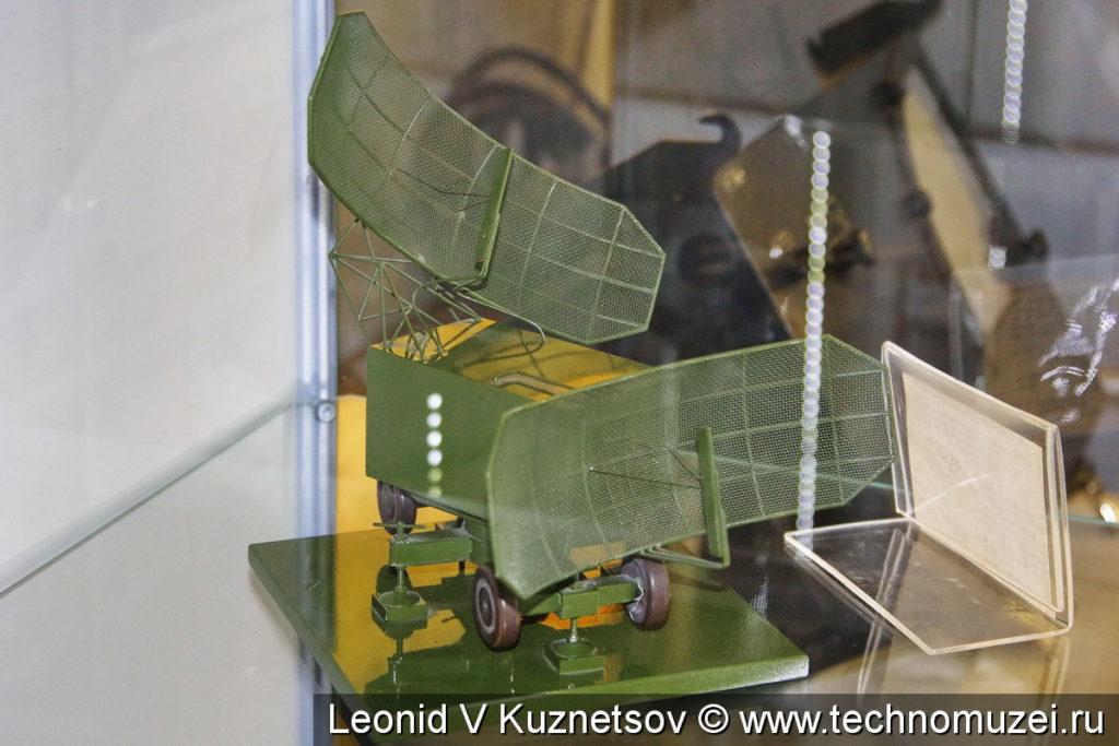 """Макет РЛС П-20 """"Перископ"""" в музее войск ПВО в Балашихе"""