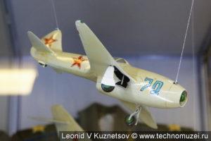 Модель истребителя Як-15 в музее войск ПВО в Балашихе