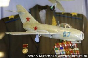 Модель истребителя МиГ-15 в музее войск ПВО в Балашихе