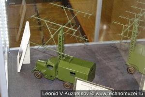 Макет РЛС П-10 в музее войск ПВО в Балашихе