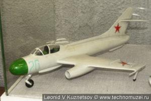 Модель истребителя-перехватчика Як-25М в музее войск ПВО в Балашихе