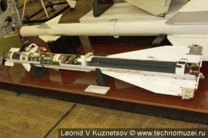 Ракета малой дальности Р-60 в музее войск ПВО в Балашихе