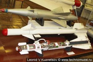 Ракета малой дальности Р-3С (К-13) в музее войск ПВО в Балашихе