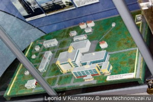 Макет центра управления контроля космического пространства в музее войск ПВО в Балашихе