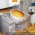 Аппаратура системы управления радиолокационного поста ВП-02У в музее войск ПВО в Балашихе