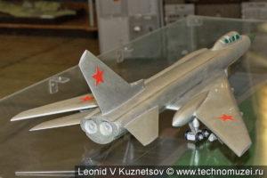 Модель самолета Ту-128 в музее войск ПВО в Балашихе