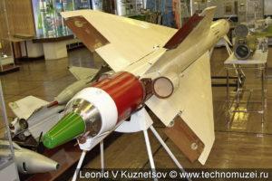 Ракета средней дальности Р-40Т в музее войск ПВО в Балашихе