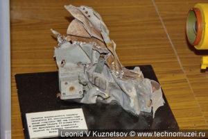 Фрагменты сбитых самолетов и зондов в музее войск ПВО в Балашихе