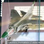 Модель истребителя МиГ-23 в музее войск ПВО в Балашихе