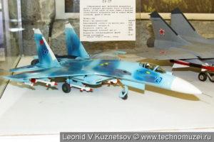 Модель истребителя-перехватчика МиГ-31 в музее войск ПВО в Балашихе