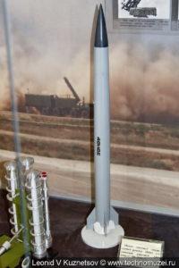 Модели установок и ракет комплекса С-300 в музее войск ПВО в Балашихе