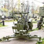 14,5-мм зенитная пулемётная установка ЗПУ-2 образца 1949 года в музее войск ПВО в Балашихе