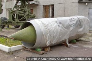 Носовая часть истребителя МиГ-21 в музее войск ПВО в Балашихе