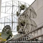 """Радиолокационная станция П-15 1РЛ13 """"Тропа"""" в музее войск ПВО в Балашихе"""