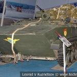 Бронетранспортер БТР-Д с парашютно-десантной системой в музейном комплексе парка Патриот